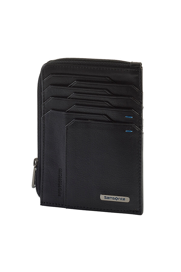 Samsonite Portemonnee.Samsonite Spectrolite Slg Portemonnee Black Night Blue Rolling Luggage