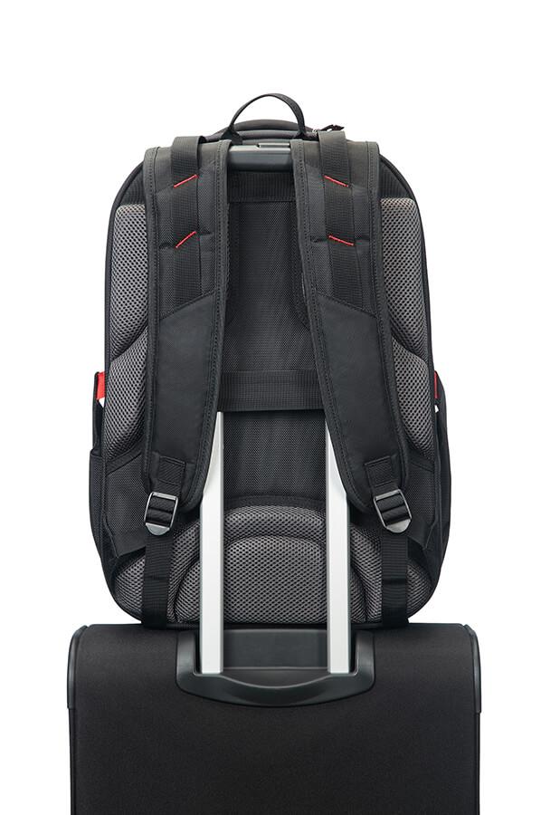 samsonite leviathan sac dos noir rouge rolling luggage. Black Bedroom Furniture Sets. Home Design Ideas